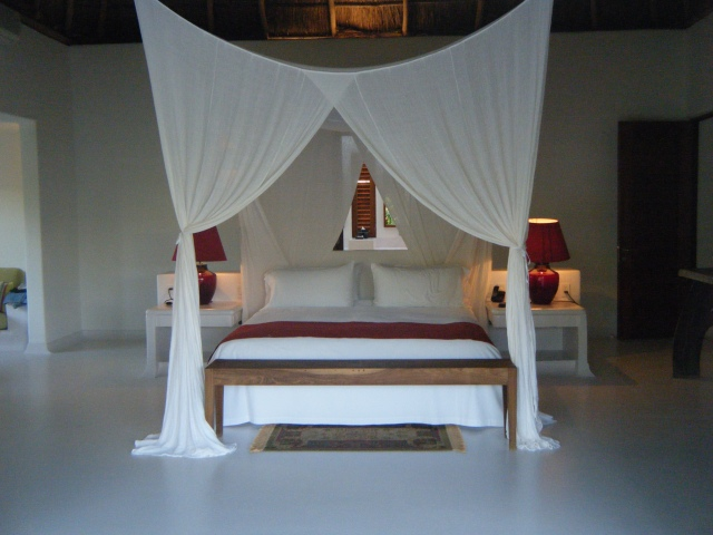 Master bedroom in Puesta del Sol