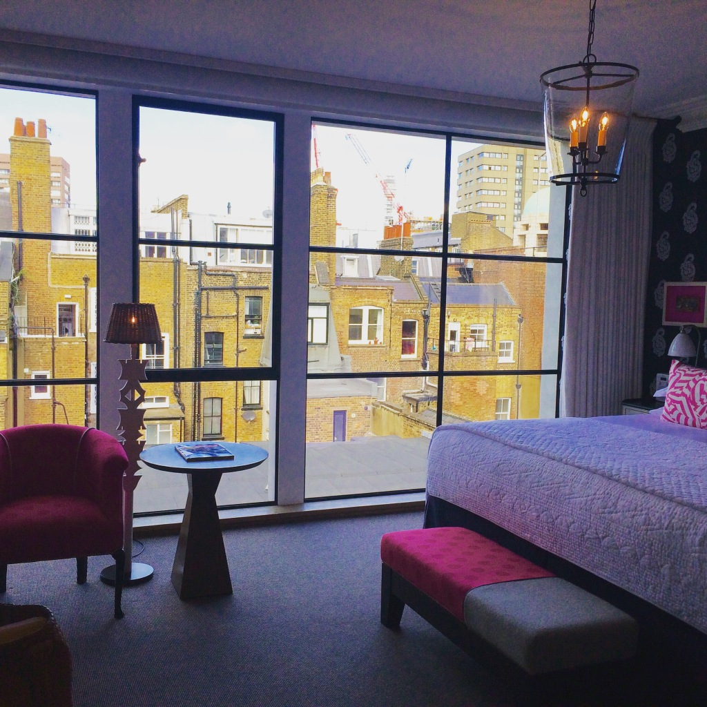 Autumn Escape to London (and a return to the Ham Yard Hotel)